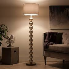 Threshold Floor Lamp Glass Shade Replacement by Stacked Ball Floor Lamp Mercury Glass Threshold Target