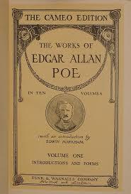 EDGAR ALLAN POE Antique OCCULT SET Works THE RAVEN Book HORROR Of