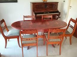 esstisch stühle tisch englischer stil eibe in schleswig