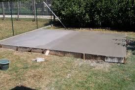 faire une dalle exterieur dalle de beton exterieur carrelage exterieur effet