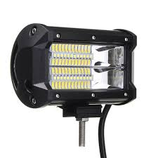 5 inch led car work lights 72w led work light bar flood l