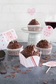 rezept für köstliche rotwein schokoladen muffins schätze
