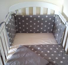 Star Cot Cot Bed Mini Crib bedding set Bumper and by SiennaChic