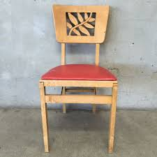 vintage stakmore folding chair flea market flip pinterest