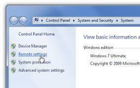 bureau a distance windows 7 comment puis je activer la connexion bureau à distance dans windows 7