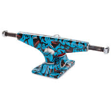 100 Krux Trucks Tall Screaming Skateboard Blue