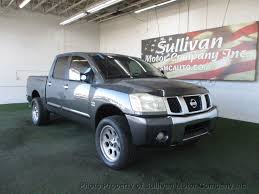 100 Used Nissan Titan Trucks For Sale 2004 NISSAN TITAN CREW CAB LE PICKUP At Sullivan Motor Company