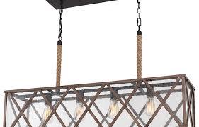 Chandeliers Design Amazing Good Rustic Rectangular Chandelier In