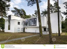 100 Bauhaus House Master Building In Dessau Germany Editorial Image