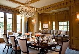 Transitional Dining Room Sets Traditional With Box Moulding Built In