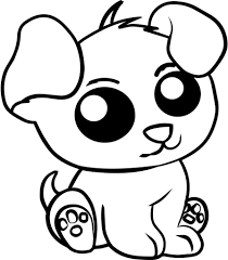 Cute Printable Coloring Pages Animals 1
