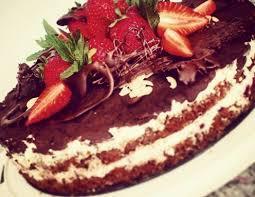 glutenfreie erdbeer nuss torte