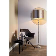 light living stehleuchte ø25 5x140 5 cm bago roh nickel für e27 leuchtmittel für wohnzimmer esszimmer schlafzimmer usw