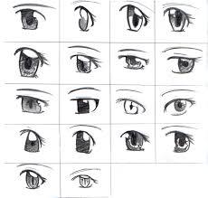 Easy To Draw Anime Eyes Drawn Eye