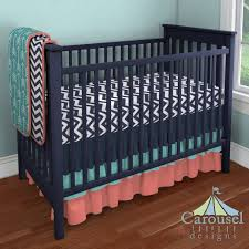 coral crib bedding target tags navy and coral baby bedding coral