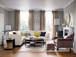 no ceiling light in living room design in grey wall living room