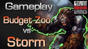 budget zoo vs storm mtgo gameplay 1 youtube