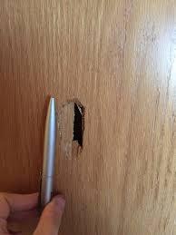 tür reparieren möglich loch