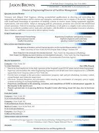 Director Resume Examples Sample Management Of Facilities Finance Executive