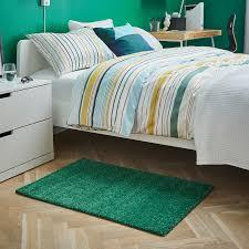 langsted teppich kurzflor grün 60x90 cm