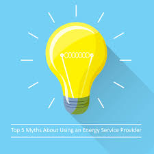 top 5 myths about using an energy service provider wecsg