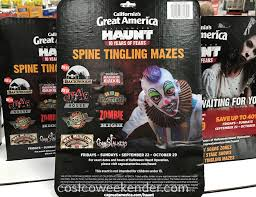 Californias Great America Halloween Haunt 2015 by Halloween Haunt Great America Tickets