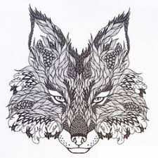 Wolf Coloring Pages For Adults 2