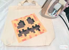 Minecraft Pumpkin Stencils Free Printable by Diy Pumpkin Treat Bag U0026 Minecraft Halloween Costume Ideas Atta