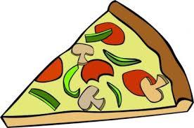 Pepperoni Pizza Slice Clip Art Free Vector