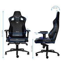 Noblechairs EPIC Series Gaming Chair - Black/Blue / Premium Design / Finest  Design / Solid Steel Frame / Plenty Of Adjustment / Easy Assembly / Max ... Noblechairs Epic Gaming Chair Black Npubla001 Artidea Gaming Chair Noblechairs Pu Best Gaming Chairs For Csgo In 2019 Approved By Pro Players Introduces Mercedesamg Petronas Licensed Epic Series A Every Pc Gamer Needs Icon Review Your Setup Finally Ascended From A Standard Office Chair To My New Noblechairs Motsport Edition The Most Epic Setup At Ifa Lg Magazine Fortnite 2018 The Best Play Blackwhite