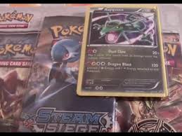 gan siege steam siege rayquaza pack opening second best card pulled