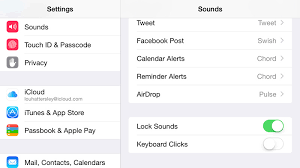 Iphone factory How to turn off keyboard click sounds in iOS 8