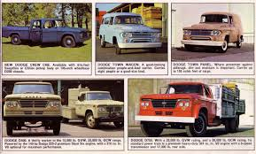 CC Outtake: 1962 – 1964 Dodge D100 Pickup – A Familiar And ...