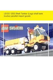 LEGO 1252 Shell Tanker (Lego Shell Tank Trucks) Parallel Import ...