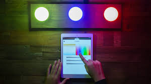 a look at the philips hue connected light bulbs wired