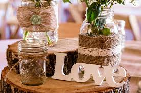 DIY Rustic Wedding Centerpiece For A Country Style