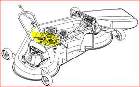 John Deere 48c Mower Deck Manual by Solved I Need A Diagram For La145 For The Deck Belt Fixya