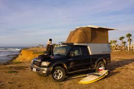 100 Ultralight Truck Campers Streamlined Pickup Camper Features Lightweight Composite Design
