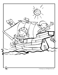 Coloring Print Pirate Pages For Kids Printable 1000 Images About On