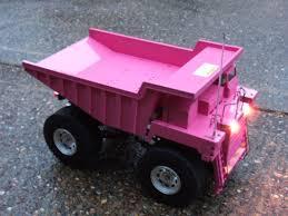 Little People Pink Dump Truck