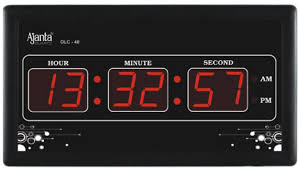 Digital Wall Clocks Ajanta Clock Price In India Buy 5