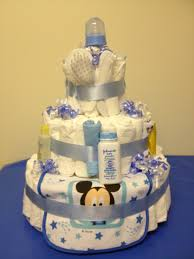 Mickey Mouse diaper cake Just what every expecting mom needs More