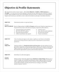 Sample Resume Objective Career Change Statement Examples As Example Resumes