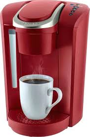 Red Keurig Coffee Maker K Select Single Serve Cup Pod Vintage