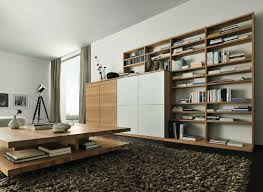 Oak Livingroom Furniture Wooden In A Contemporary Setting