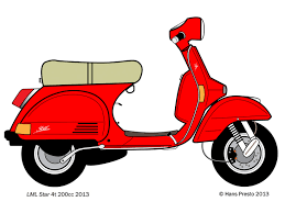 Trying To Draw A Cool Scooter With Adobe Illustrator