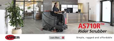 Viper 28t Floor Scrubber by Nilfisk Inc Canada Commercial And Industrial Floor Care Equipment
