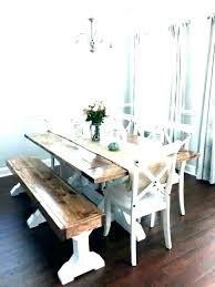 Dining Room Table With Bench Seat Back Seating