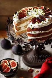 Honey Cake With Fig Pistachios And Hazelnuts
