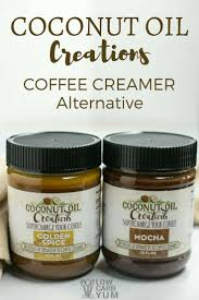 Coconut Oil Coffee Creamer For Low Carb Keto Diet